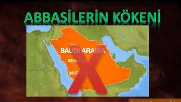 Abbasiler Arap Yarımadasından Değil